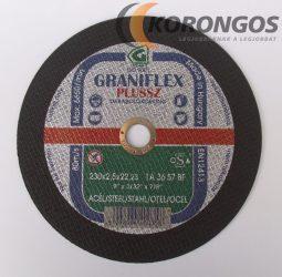 GRANIFLEX Plussz 1A Vágókorong 230 x 2,5 mm