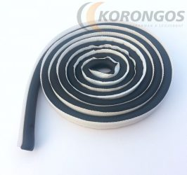 Karosszéria tömítő zsinór fekete nyers gumi 10mm x 2m