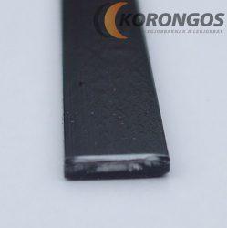 ABS szalag 8 mm x 2 mm x 100 cm fekete Műanyag hegesztő pálca