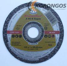 KLINGSPOR Kronenflex A 60 N Supra Vágókorong Alumíniumhoz, rézhez  125 x 1 mm