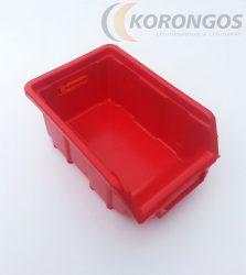 Csavartartó doboz 110x165x75mm Piros