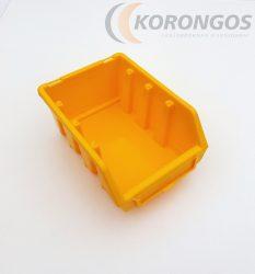 Csavartartó doboz 110x165x75mm Sárga