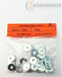 Fakötésű alátét  5mm DIN 9021 50db-os kiszerelésben
