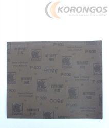 Vizes csiszolópapír P-500 INDASA