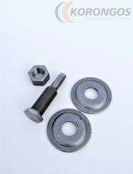 Négertárcsa befogó adapter 13mm-es középfurathoz