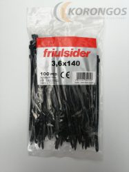 Kábelkötegelő 140x3,6mm