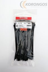 Kábelkötegelő 200x4,8mm
