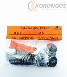 Fakötésű alátét  6mm DIN440