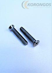 Sűllyesztett fejű kereszthornyos csavar M5x30mm