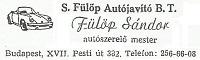 S. Fülöp Autójavító BT.