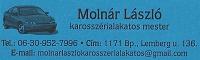 Molnár László 0630-952-7996