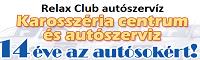 Relax Club autószervíz